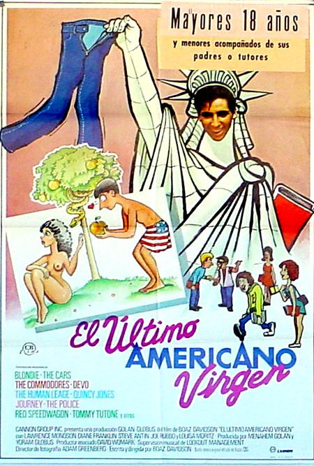 El último americano virgen cartel pelicula