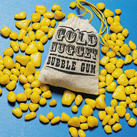 Pepitas chicle Gold Nugget