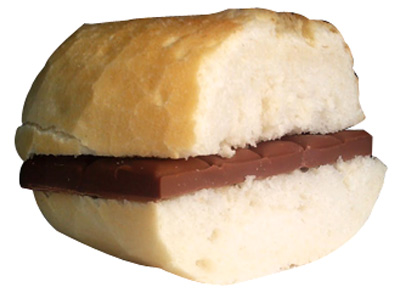 Bocata chocolate