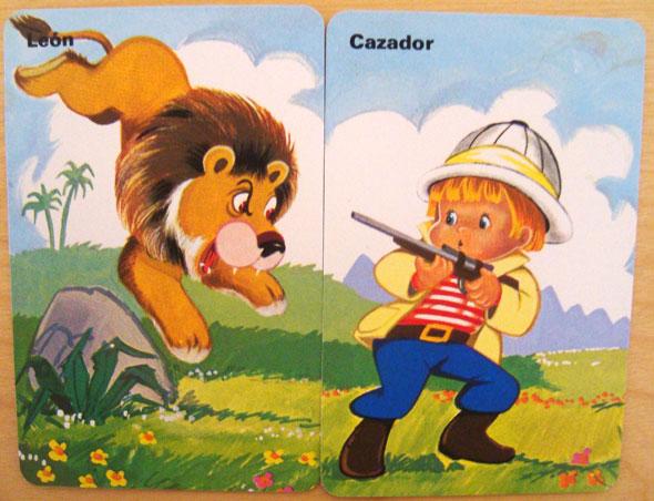 cazador leon Parejas del Mundo