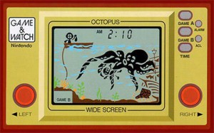 Game&Watch Octopus