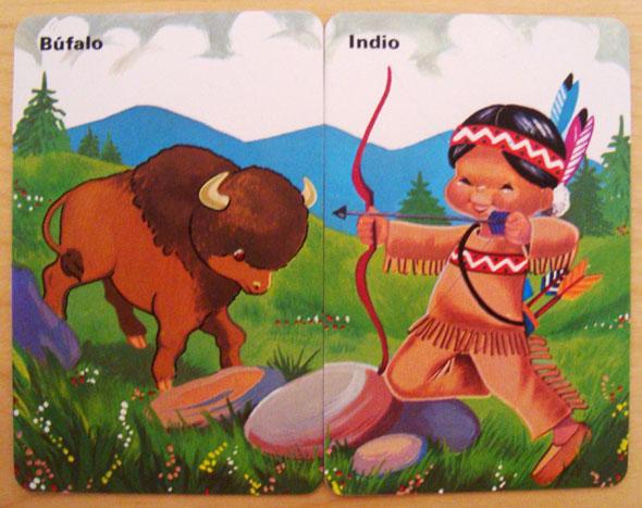 Indio bufalo Parejas del Mundo