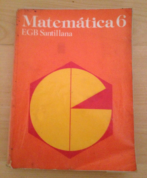 Libro matematicas 6 EGB