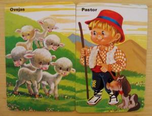 pastor ovejas cartas