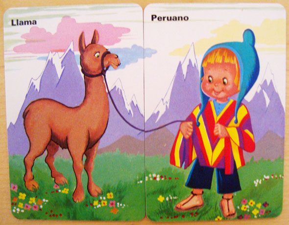 peruano llama Parejas del Mundo