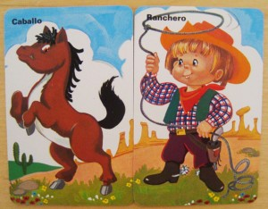 Ranchero caballo cartas