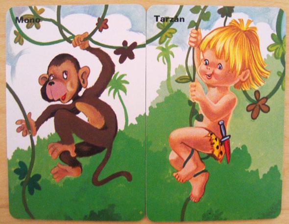 Parejas del Mundo Tarzan mono