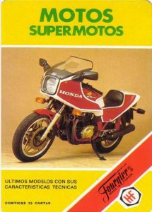 Cartas supermotos