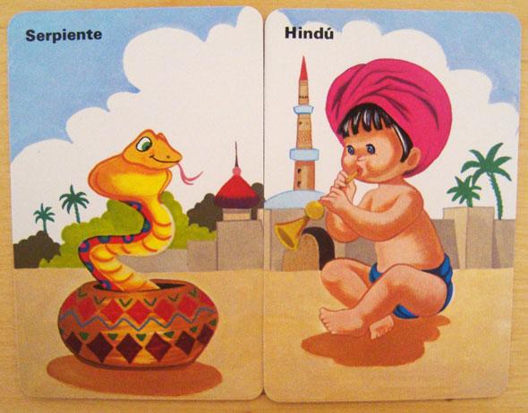Hindu serpiente Parejas del Mundo