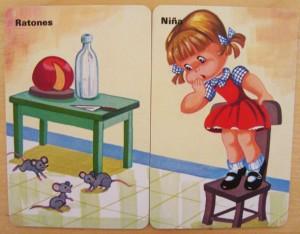 parejas ratones cartas