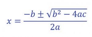 formula-ecuaciones segundo grado