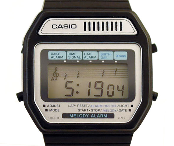 5232af2b676c Nuestro primer reloj digital  los modelos más míticos de CASIO - Yo ...