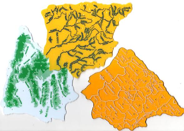 plantillas mapas EGB