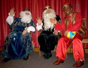 Reyes magos falsos