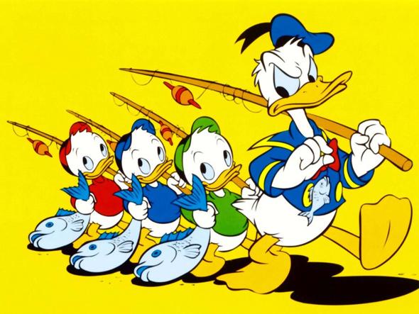 Sobrinos-Pato-Donald