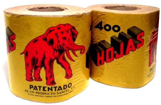 Resultado de imagen de papel higienico de los años sesenta