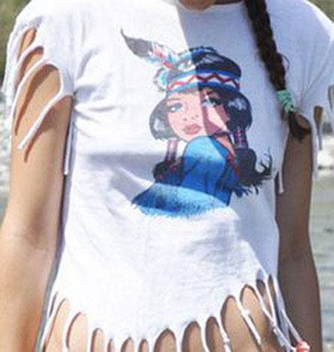 camiseta india