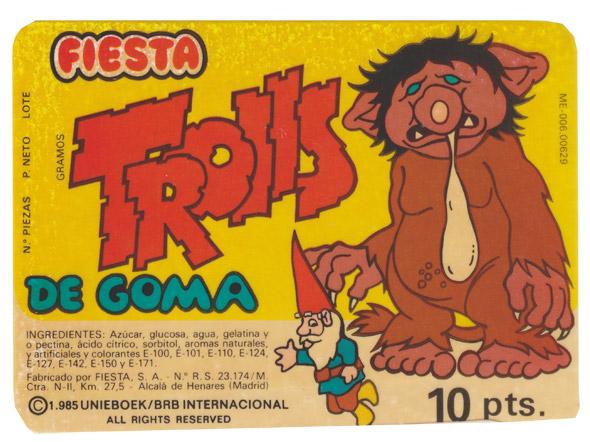 Trolls-de-goma