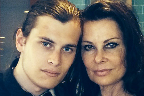 Jane e hijo