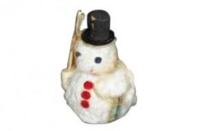 Adornos Navidad. Muñeco de nieve