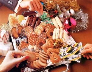 Navidad 1986 Surtido galletas