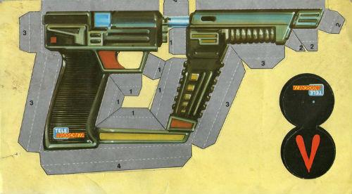 pistola V