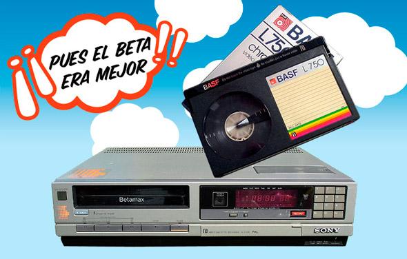 37f6048aa Sony anuncia el fin definitivo del Betamax  dejarán de venderse ...