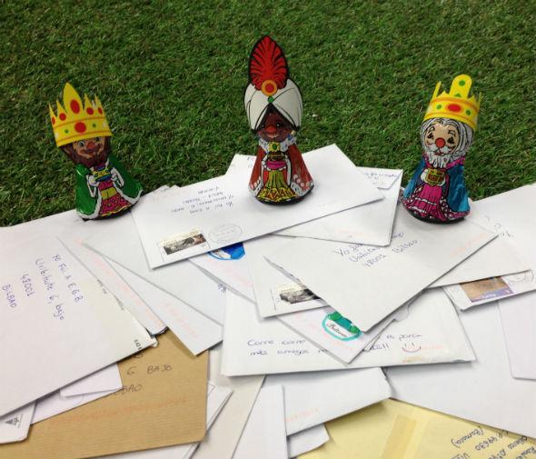 Cartas a los reyes EGBeros