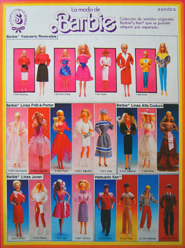 Catalogo barbie