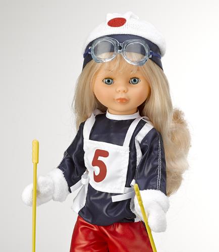 Nancy esquiadora