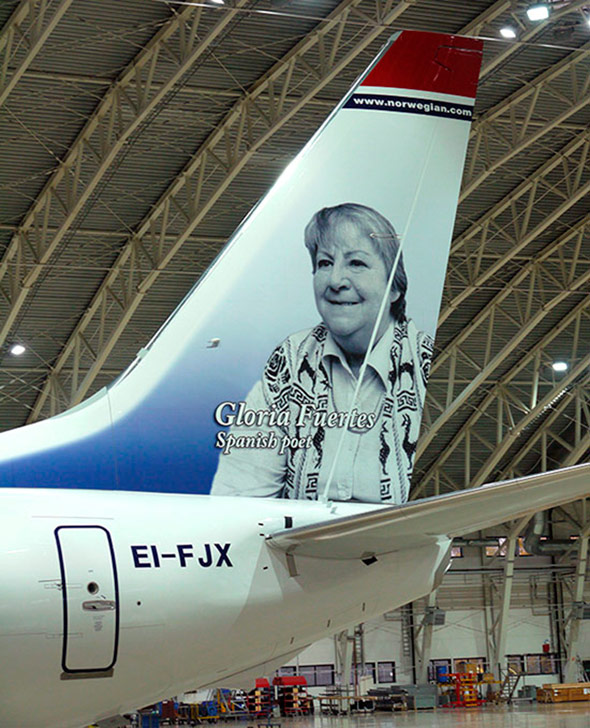 gloria-fuertes-norwegian-avion
